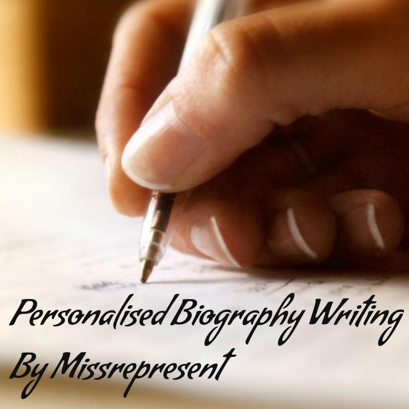 Personalised DNB Bio Writing