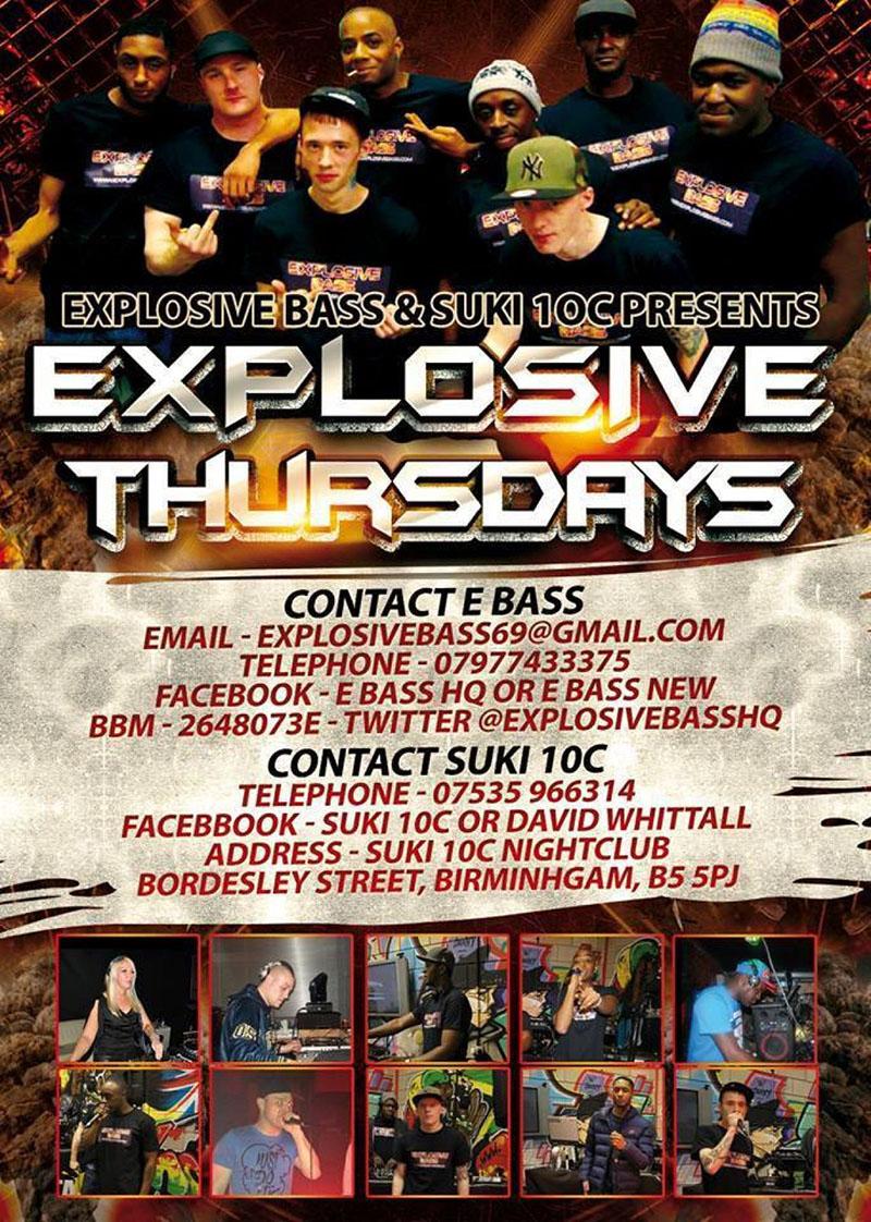 Explosive Thursdays