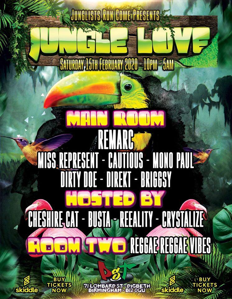 Jungle Love Birmingham