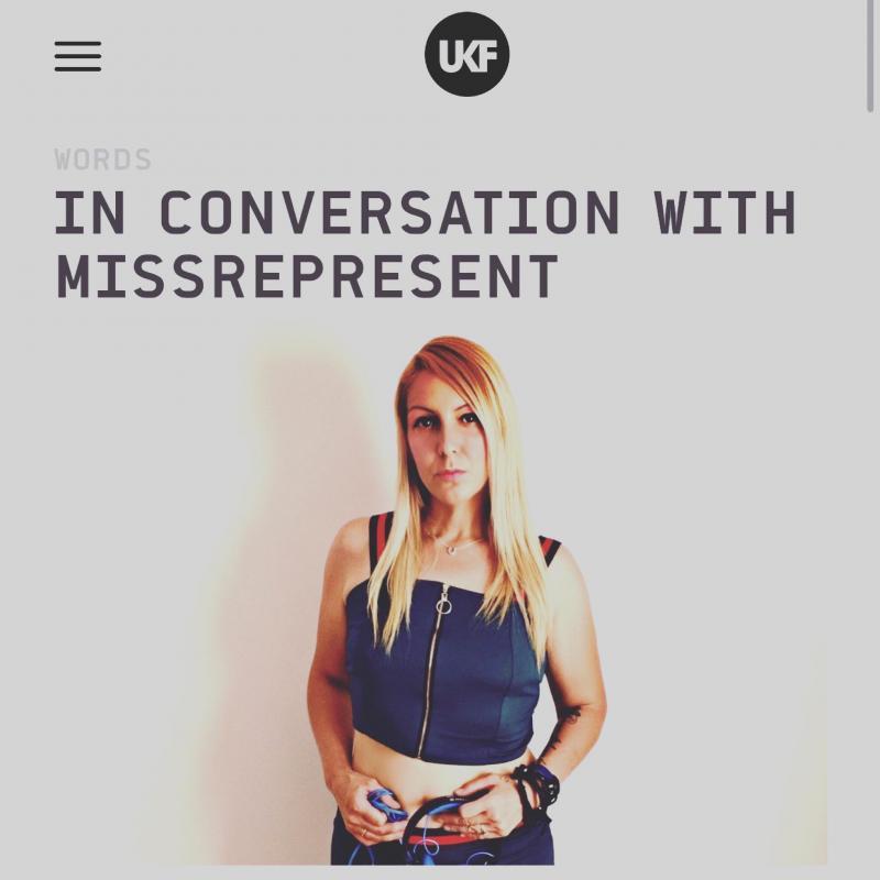 Missrepresent UKF