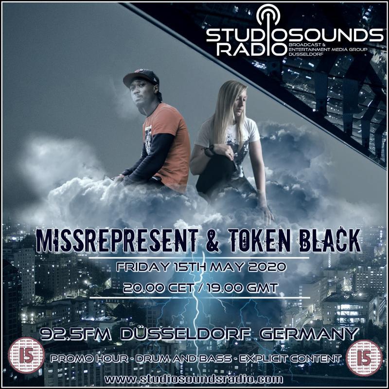 Missrepresent & Token Black Studio Sounds Radio